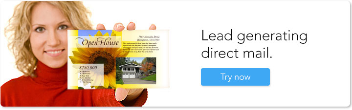 Lead generating direct mail.
