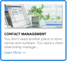 Contact Management Overview